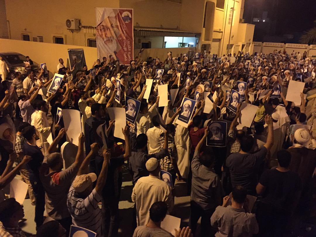 المعتصمون يحيون «يوم القدس العالمي» في ميدان الفداء