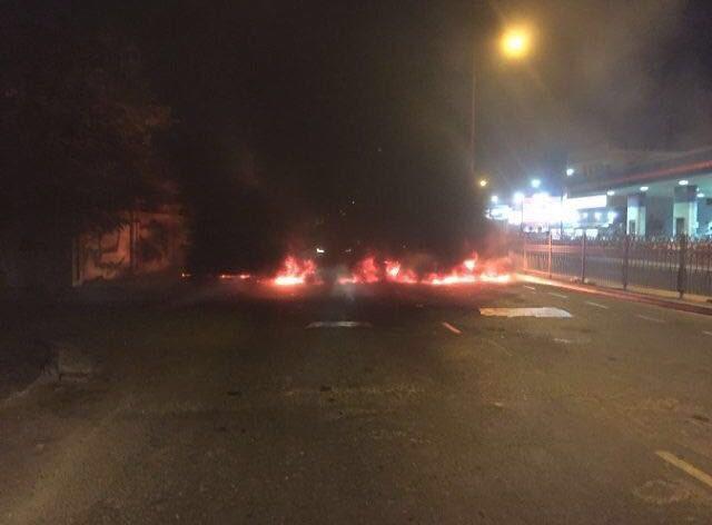 قطع «شارع جدحفص» دعما لاعتصام الجماهير في «ميدان الفداء»