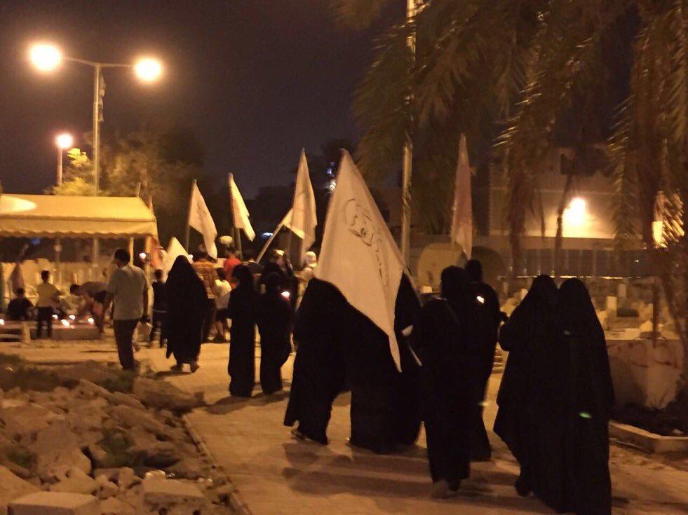مسيرة «شموع الشهادة» وفاءً للشهيدين قاسم محسن وحسين شرف