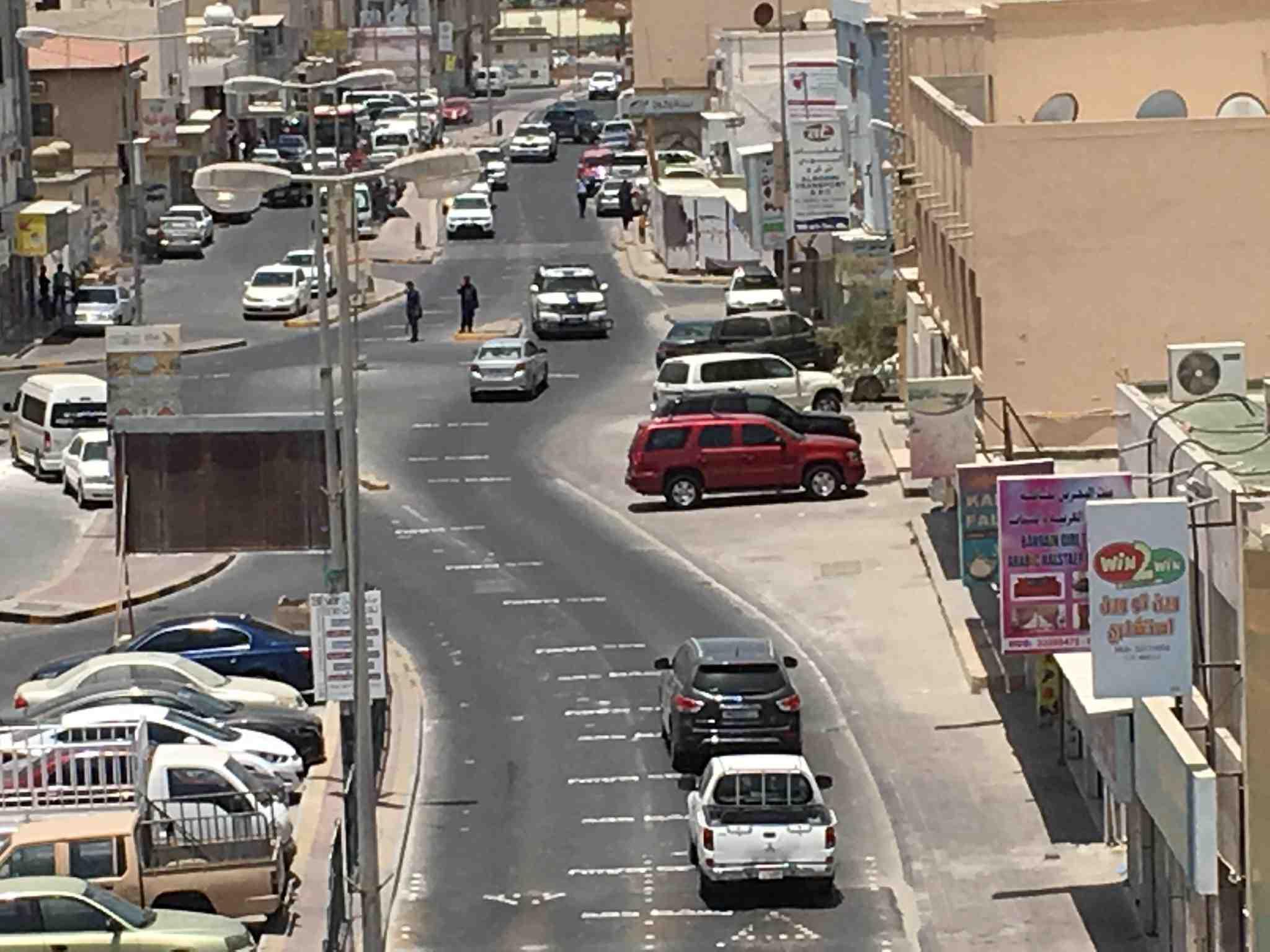 خطّ «شوارع البحرين» باسم الديكتاتور حمد ضمن فعالية «جبروتكم تحت أقدامنا»