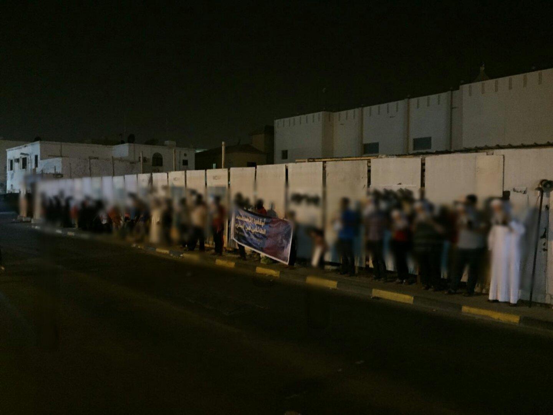 وقفة في «بوري» دعمًا للاعتصام المفتوح في «ميدان الفداء»