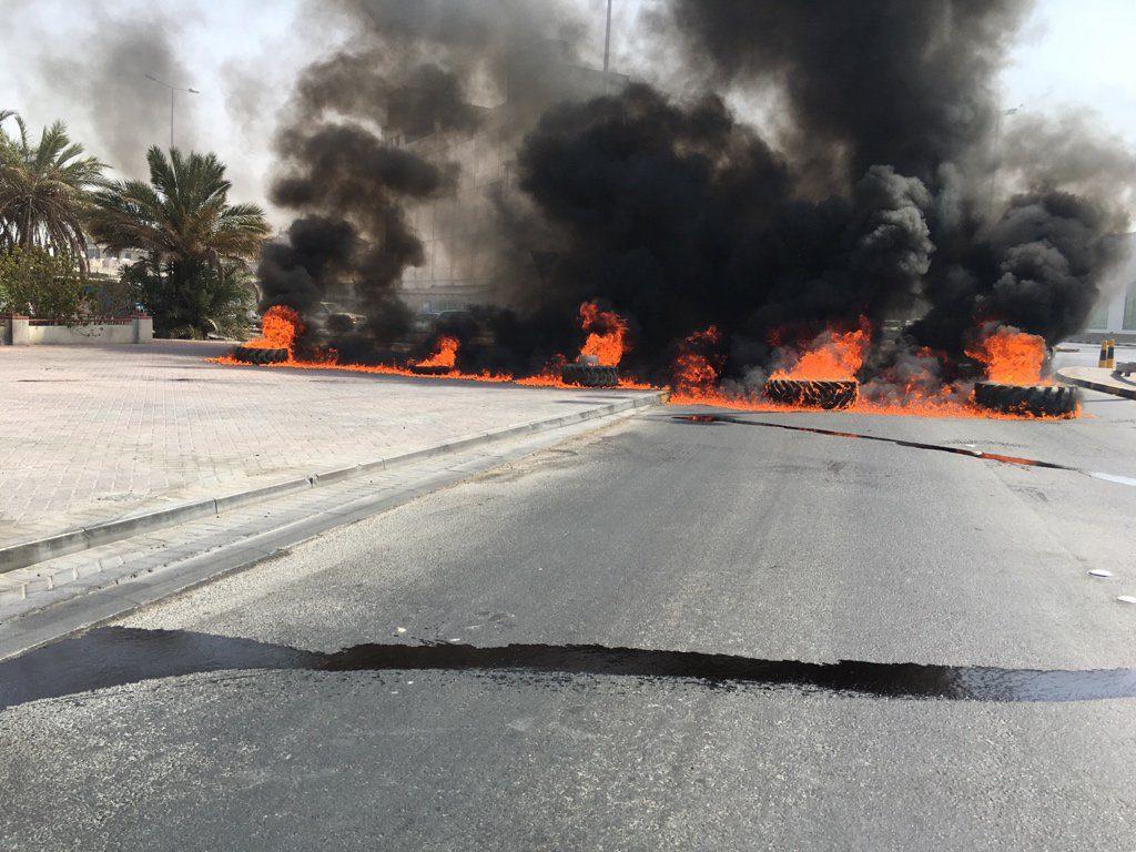 قطع شارع خطّ النار في «يوم الأسير البحرانيّ»