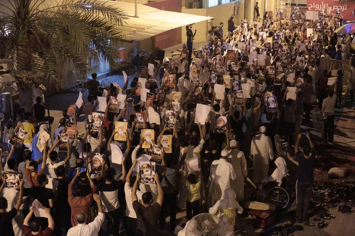 اعتصام «ميدان الفداء» يتواصل..والجماهير المعتصمة تؤكد: إننا باقون