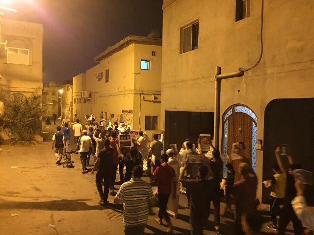 تظاهرات غاضبة تشهدها «البحرين» انتصارًا لمقام آية الله قاسم