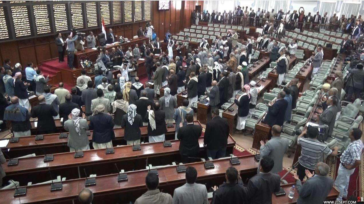 «ائتلاف 14 فبراير» يهنّئ الشعب اليمنيّ على تفعيل مؤسّساته الشرعيّة