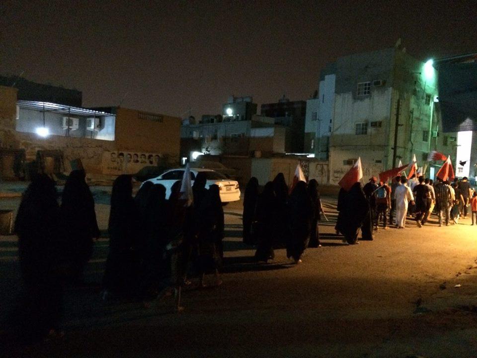 حراك غاضب يعمّ البحرين وفاءً للشهيد الحايكي
