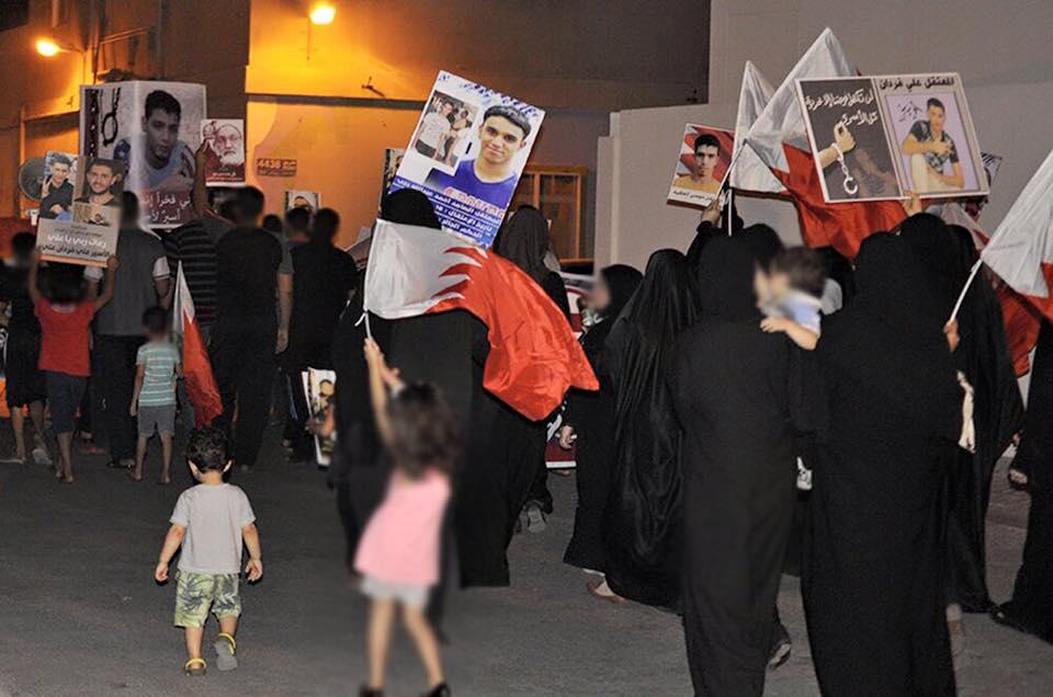 تظاهرة في «شهركان» ضمن فعاليّات يوم الأسير البحرانيّ