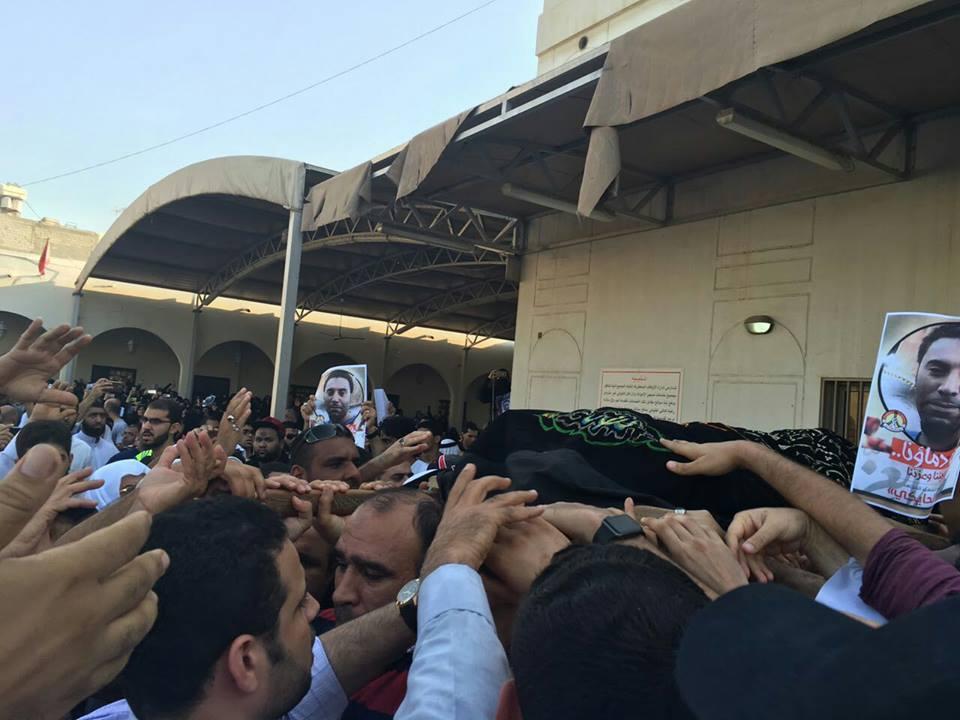 حشود جماهيريّة غفيرة تشارك في زفاف «الشهيد الحايكي»