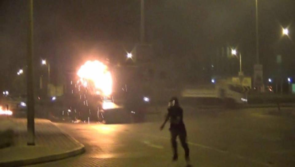 تظاهر غاضب «غرب المنامة» رفضًا لاعتقال الشيخ الزاكي