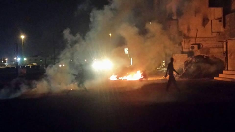 تظاهر غاضب في عدد من مناطق البحرين