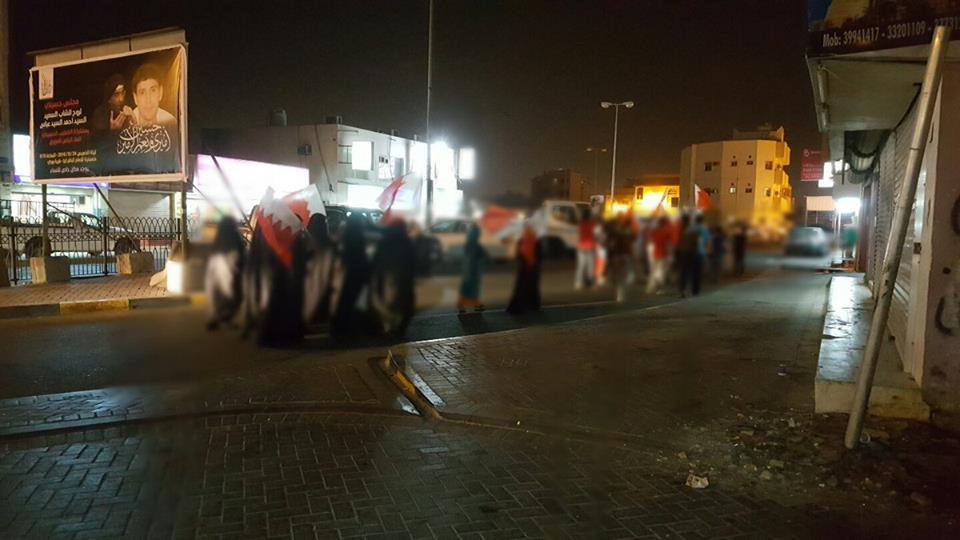 تظاهرات غاضبة تؤكد تمسّك «شعب البحرين» بتقرير مصيره