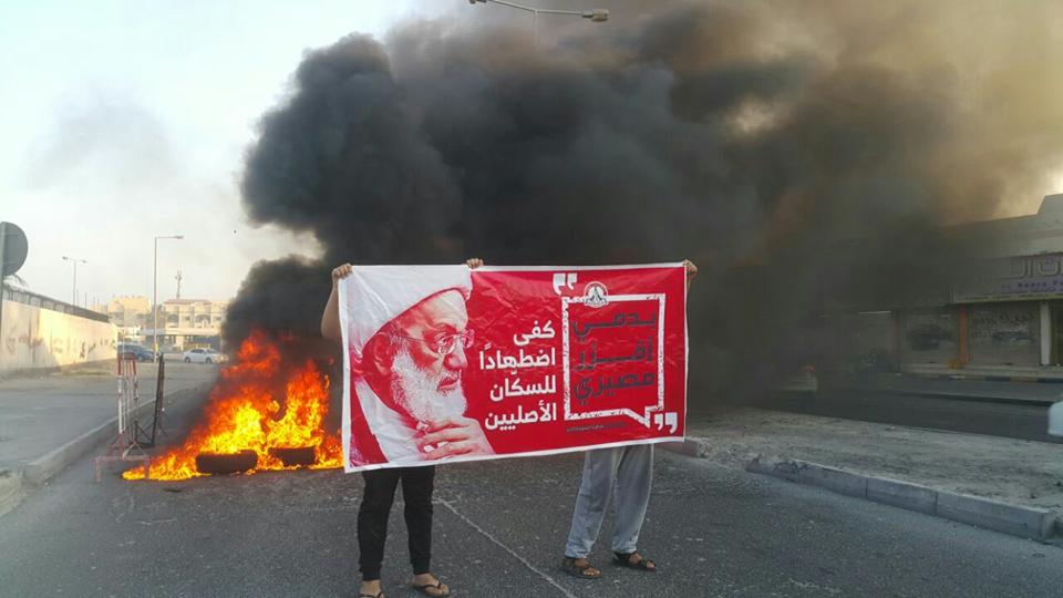 عمليّة «بدمي أقرّر مصيري» تشعل شوارع البحرين