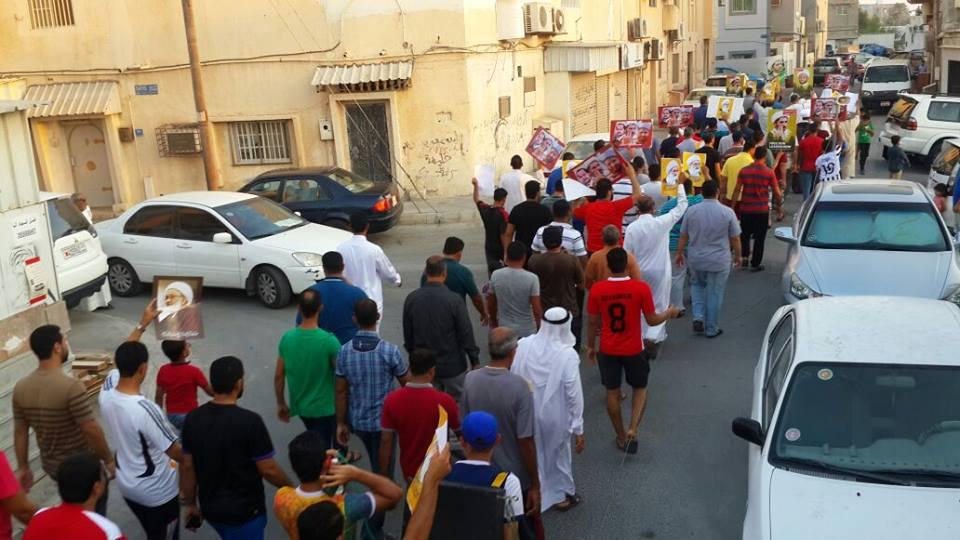 تظاهرات «جمعة الفداء – 8» تؤكد التمسّك بتقرير المصير