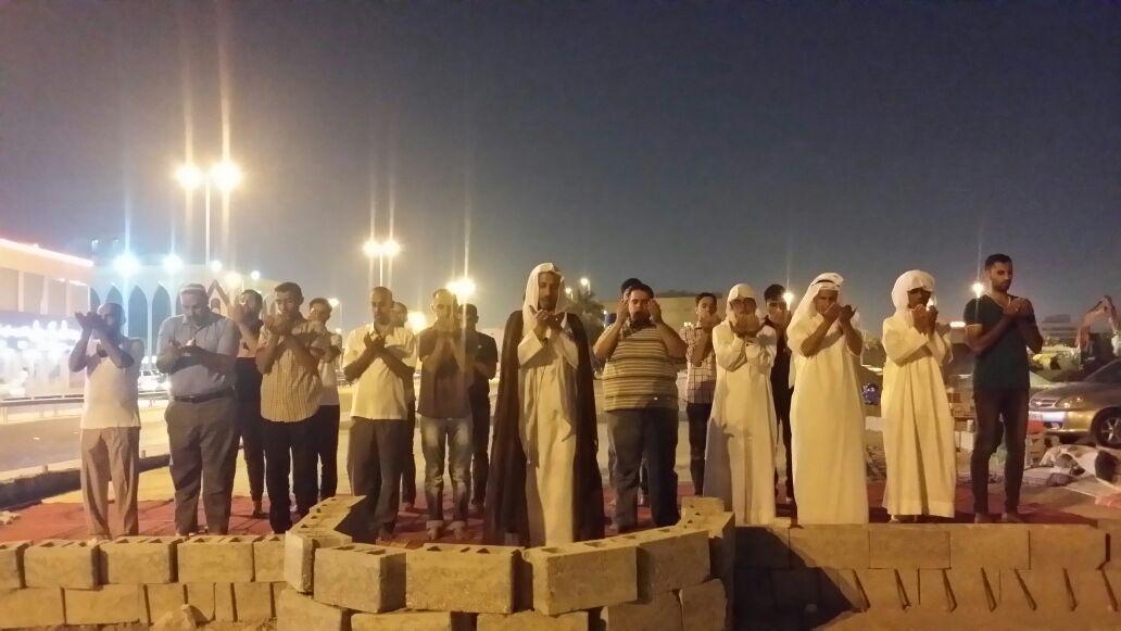 تذكيرًا بجريمة هدم المساجد..«ثورة المحراب» تتواصل في مسجد العلويات