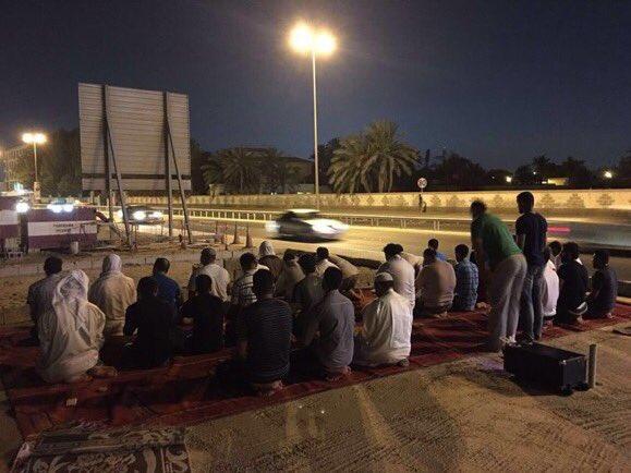 ثورة المحراب..الصلاة بمسجد العلويات تذكيرًا بجريمة هدم المساجد