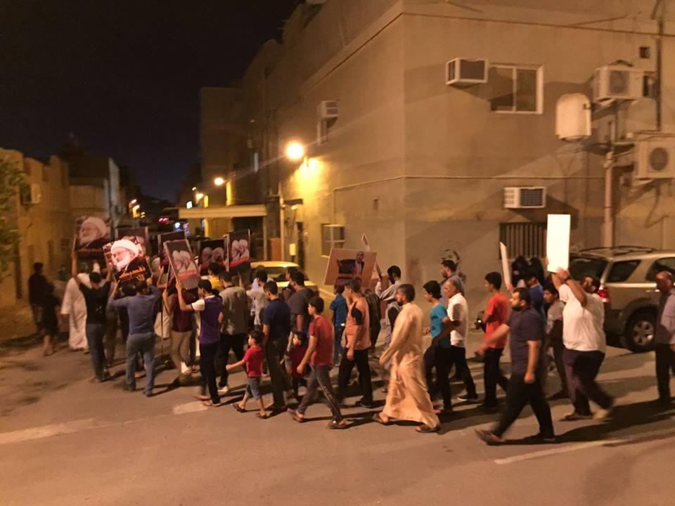 تظاهرات وحراك ثوري مستمر وفاءً للشهيد «ناصر الرس»