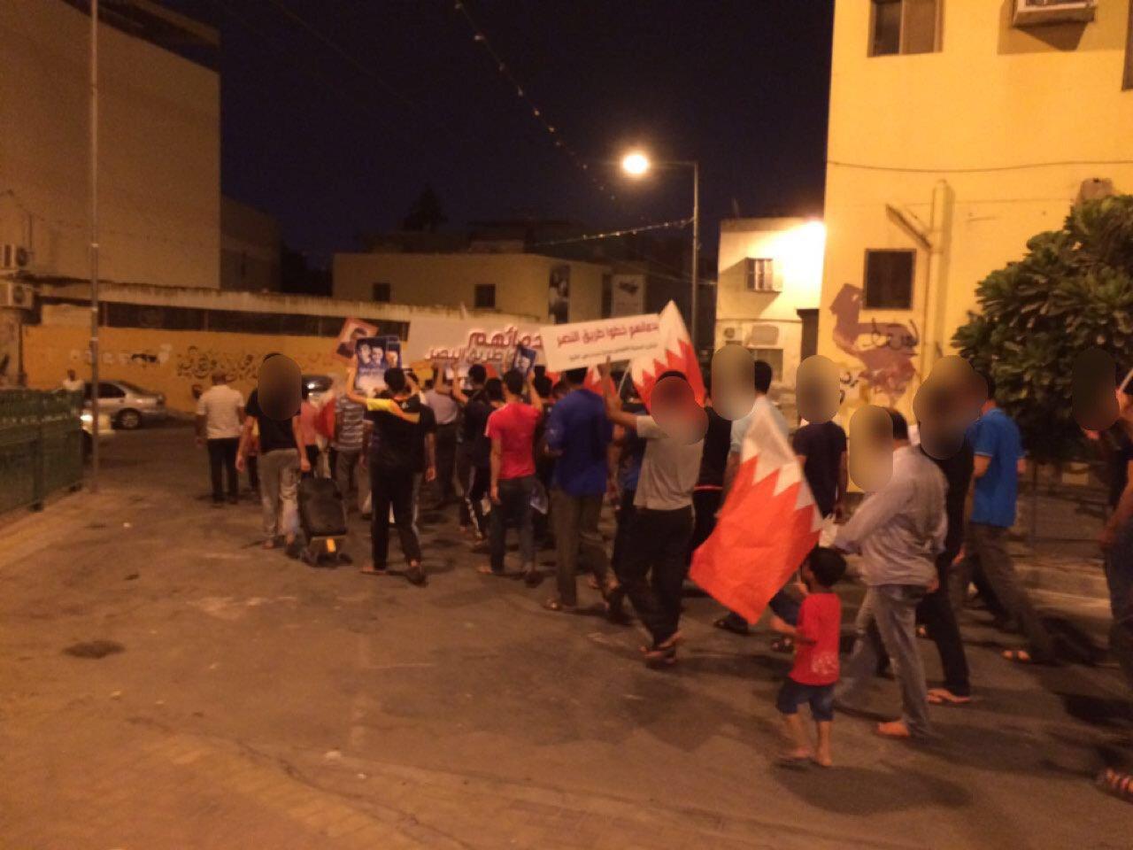 تظاهرة تأبينيّة للشهيدين «سبت والشيخ» في السهلة الجنوبيّة