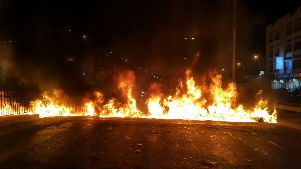 شارع «خط النار» يشتعل بالنار عشيّة محاكمة «آية الله قاسم»