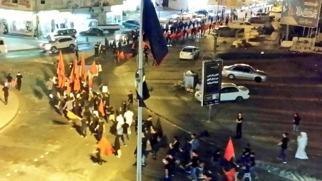 موكب الشهيد في عالي يجدّد العهد مع «قواسم البحرين»