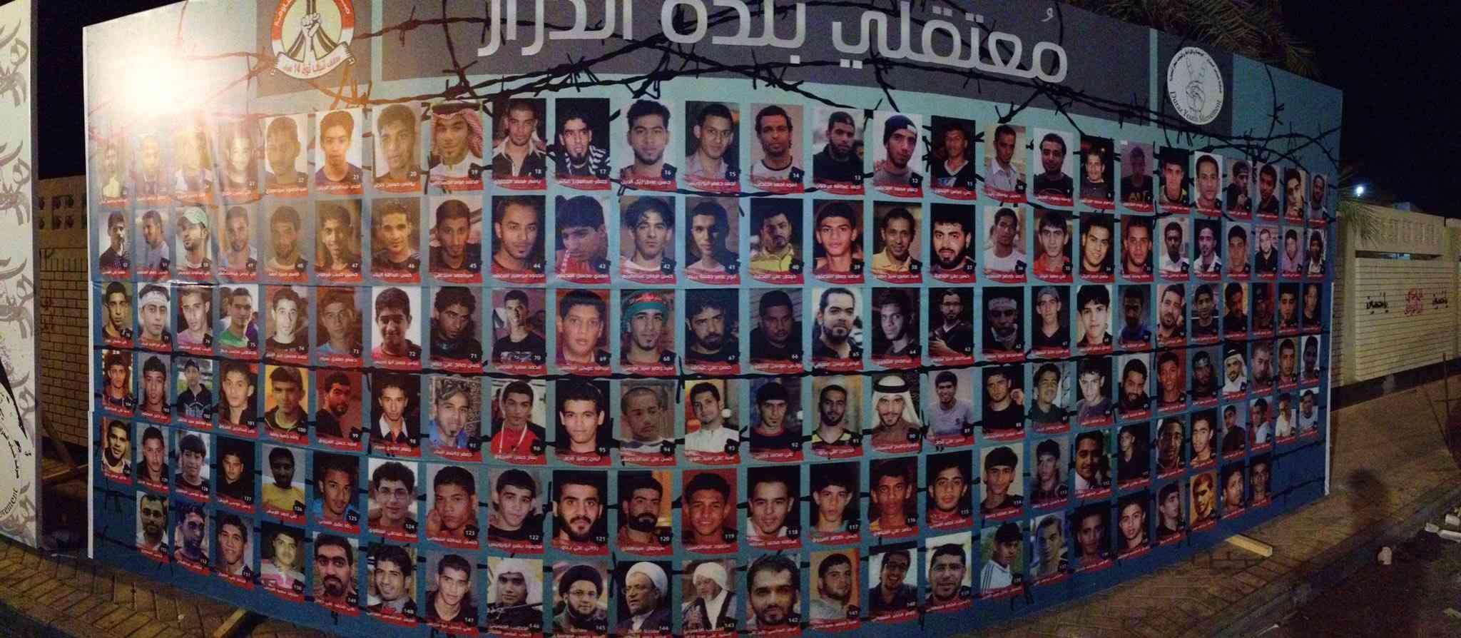 صور المعتقلين حاضرة في المراسم العاشورائيّة تحت عنوان «تشتاقكم المواكب والمآتم»
