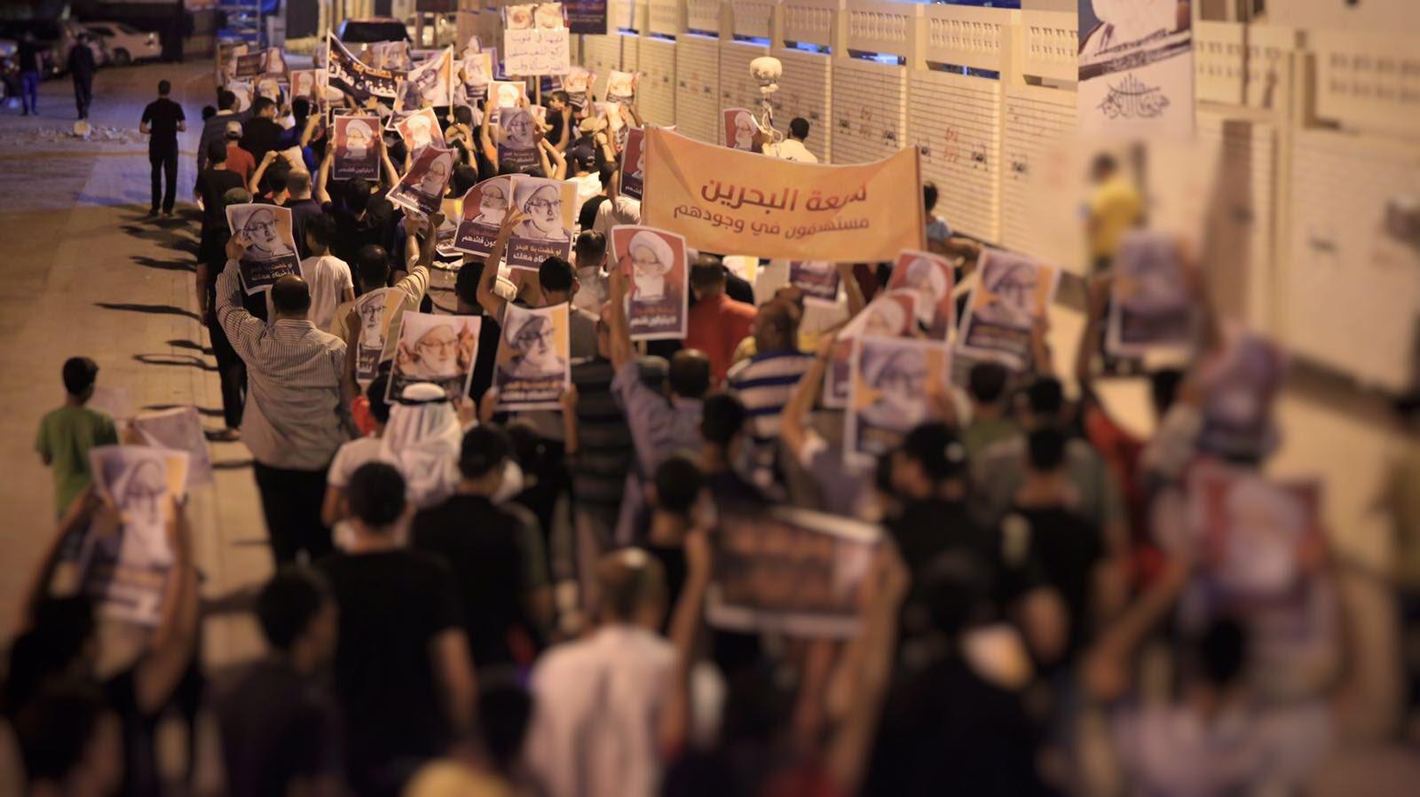 مسيرة حاشدة في محيط «ميدان الفداء» تُؤكد الثبّات على الموقف الفدائي