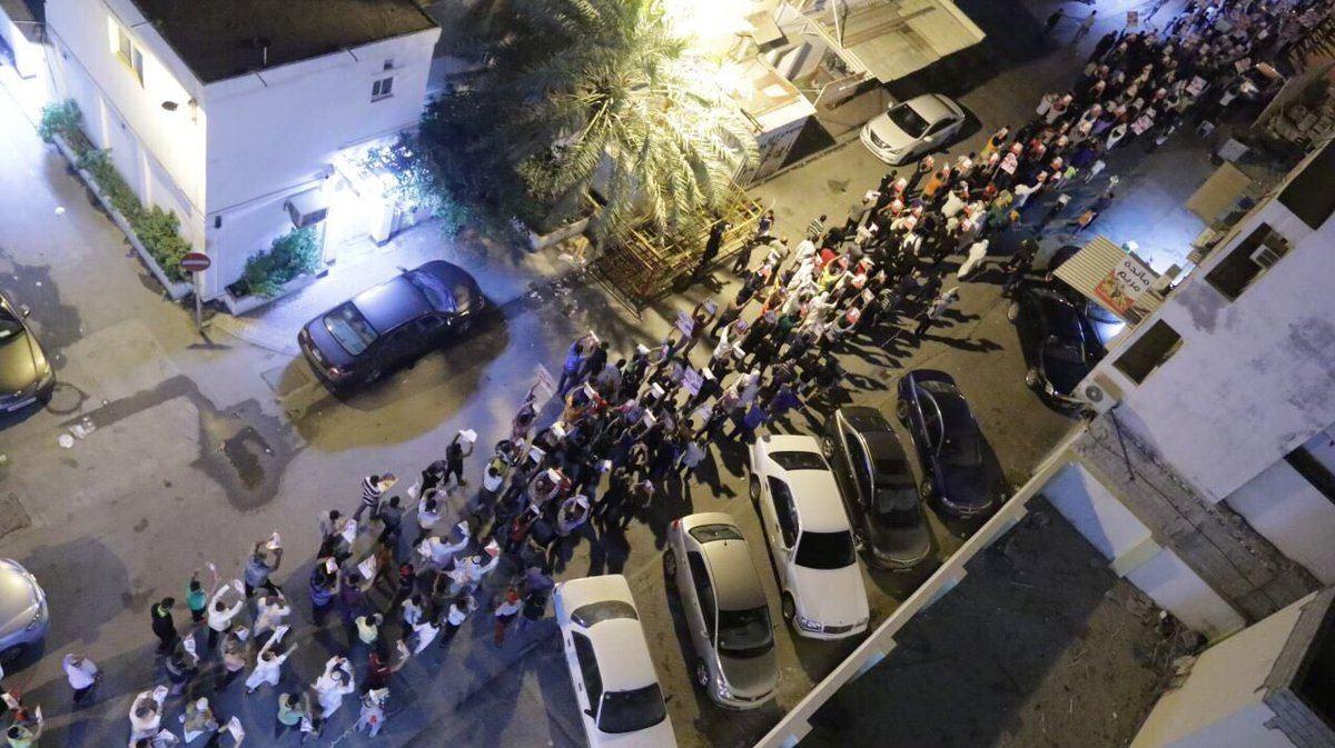 الآلاف يحتشدون في «ميدان الفداء» عشيّة محاكمة «آية الله قاسم»