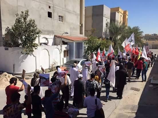 أبوصيبع والشاخورة تتظاهران تحت عنوان «صرخة الإرادة»