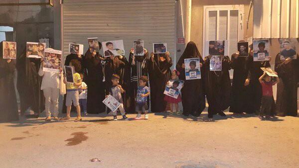 حرائر البحرين يعبرن عن تضامنهنّ مع «معتقلي الرأي»