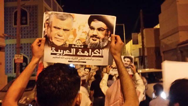 صور السيّد «نصر الله» و «العامري» ترفع في جمعة الكرامة العربيّة
