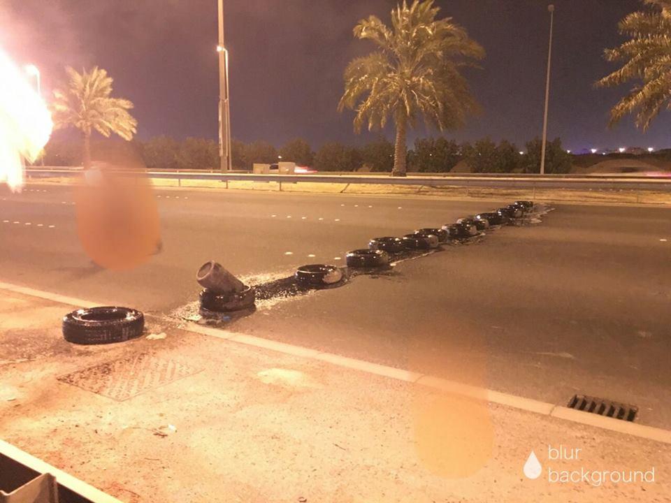 بعد كسرهم الحِصار..«ثوّار البحرين» يقطعون شارع 14 فبراير الحيوي