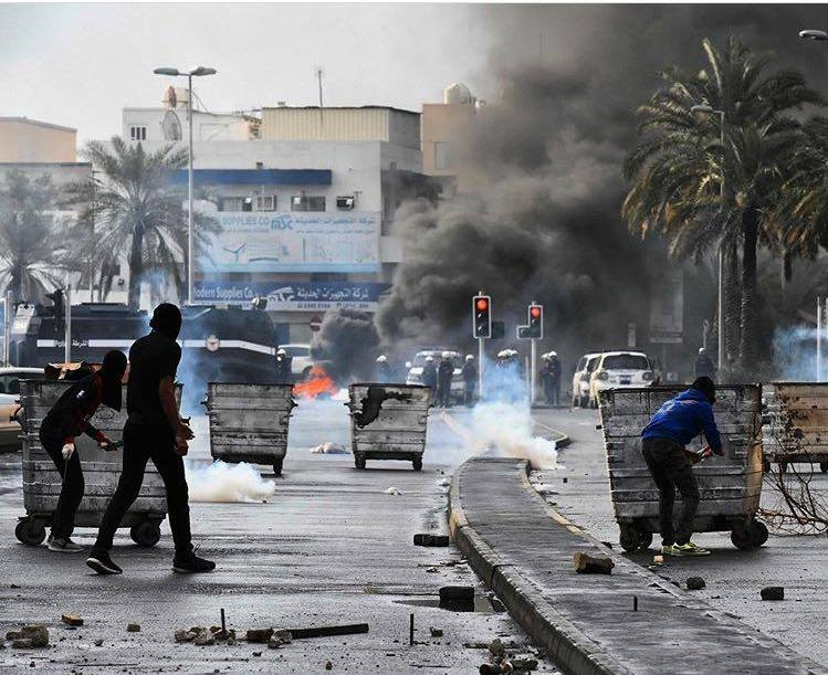 عاصفة من التظاهرات تجتاح البحرين في الذكرى السادسة للثورة