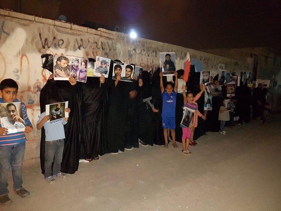 وقفات ثوريّة تعبر عن التضامن أسيرات «ثورة البحرين»