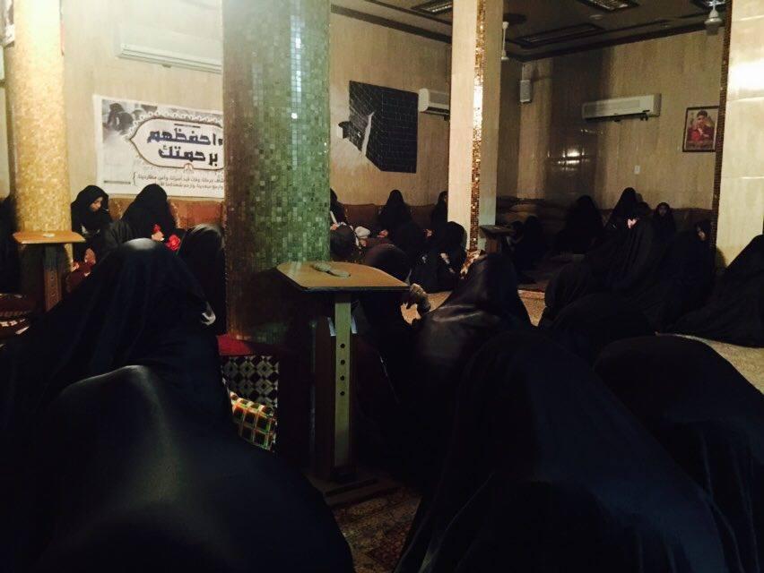 بمشاركة حرائر البحرين..أمسيتان ابتهاليّتان في سماهيج وصدد
