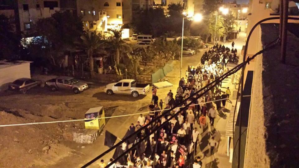 التظاهرات الغاضبة تجتاح البحرين عشيّة 14 مارس