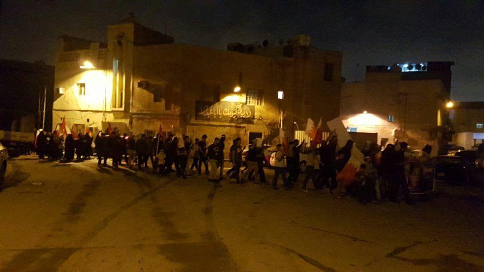 تظاهرة «تكبيرة المقاومة» تخليدًا لذكرى الشهيد «هاني عبد العزيز»