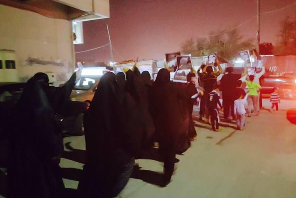 تظاهرتان في «المقشع والسنابس» وفاءً لـ «شهيد الفداء»