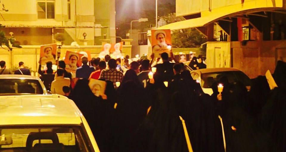 جماهير الثورة تواصل حراكها الثوريّ في ساحات البحرين