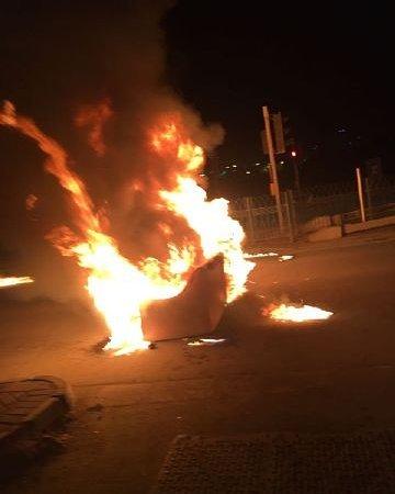 أعمدة الغضب ترتفع وسط الشارع المؤدي نحو «العاصمة المنامة»