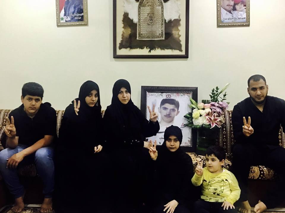 «اجتماعيّة الائتلاف» تزور أسرة «شهيد الفداء» مصطفى حمدان