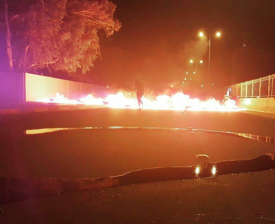 فعالية «نحو تقرير المصير» تشلّ الحركة المروريّة في الشوارع المؤدية للمنامة