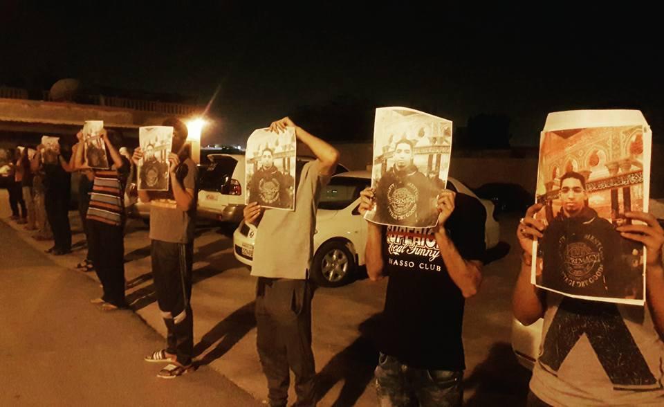 أهالي المصلّى يتضامنون مع المعتقلين السياسيّين