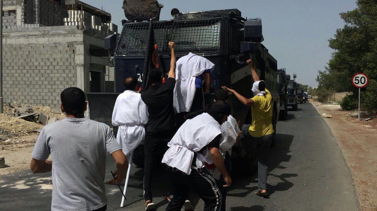 ضياء البحراني لموقع الوعي:شعب البحرين سيدافع عن نفسه بشتى الوسائل المشروعة
