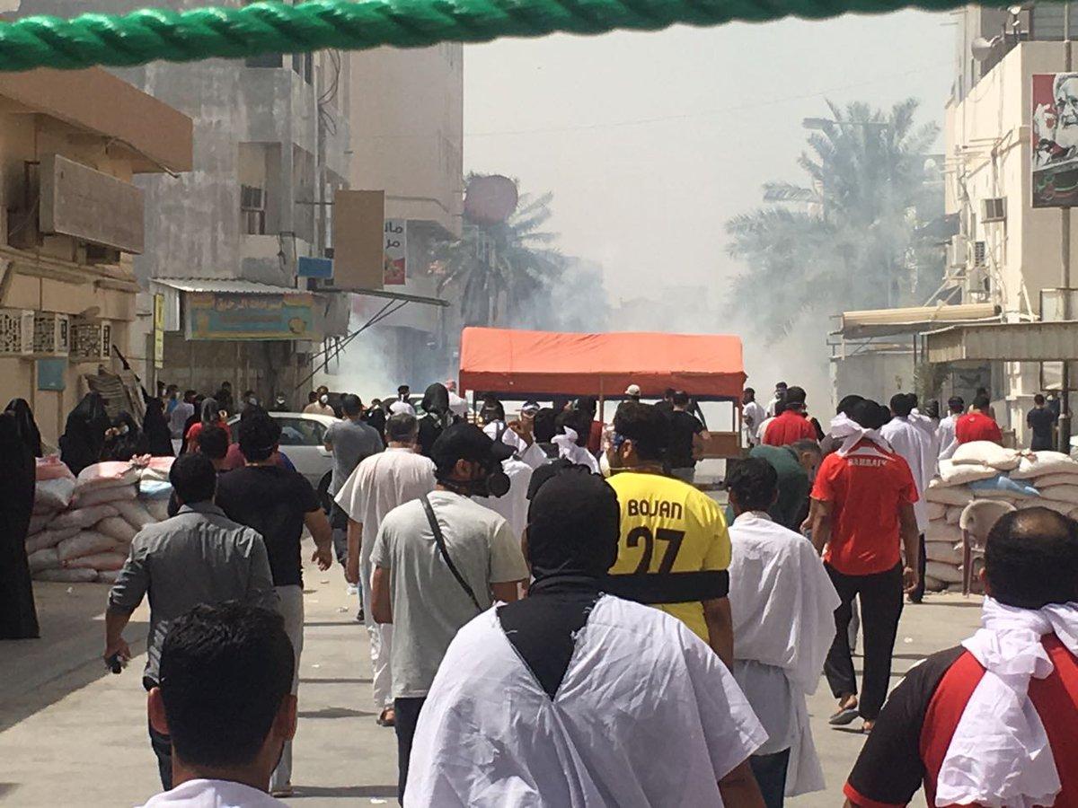 ضياء البحراني:النظام يستقوي على شعب البحرين بالدعم الأمريكي المفتوح ويرتكب مجزرة في الدراز