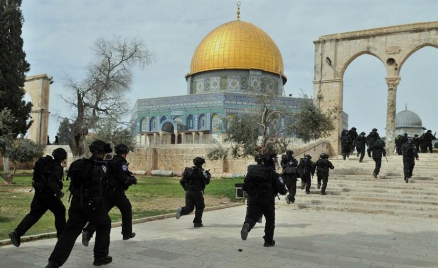 ائتلاف 14 فبراير يدين حصار «المسجد الأقصى» ويدعو المسلمين إلى التكاتف ضدّ جرائم الصهاينة