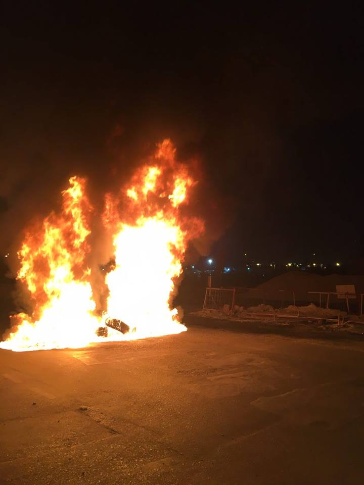 حراك ثوريّ متواصل..وتظاهر غاضب خلف مطار البحرين الدولي