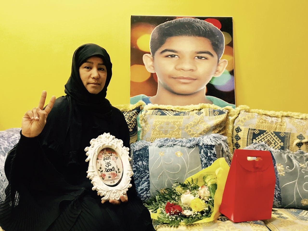 بالصور: زيارات للعوائل المضحية ضمن برنامج «أنتم كلّ العطاء» في عيد الأضحى