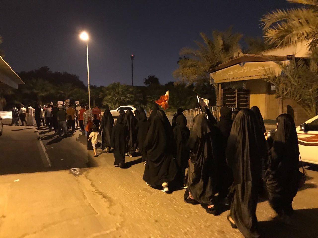 أهالي أبو صيبع والشاخورة يؤكّدون تضامنهم مع المعتقلين السياسيّين