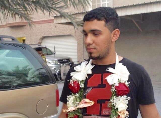 القيود الخليفيّة تتكسر عن معتقل الرأي محمد كاظم