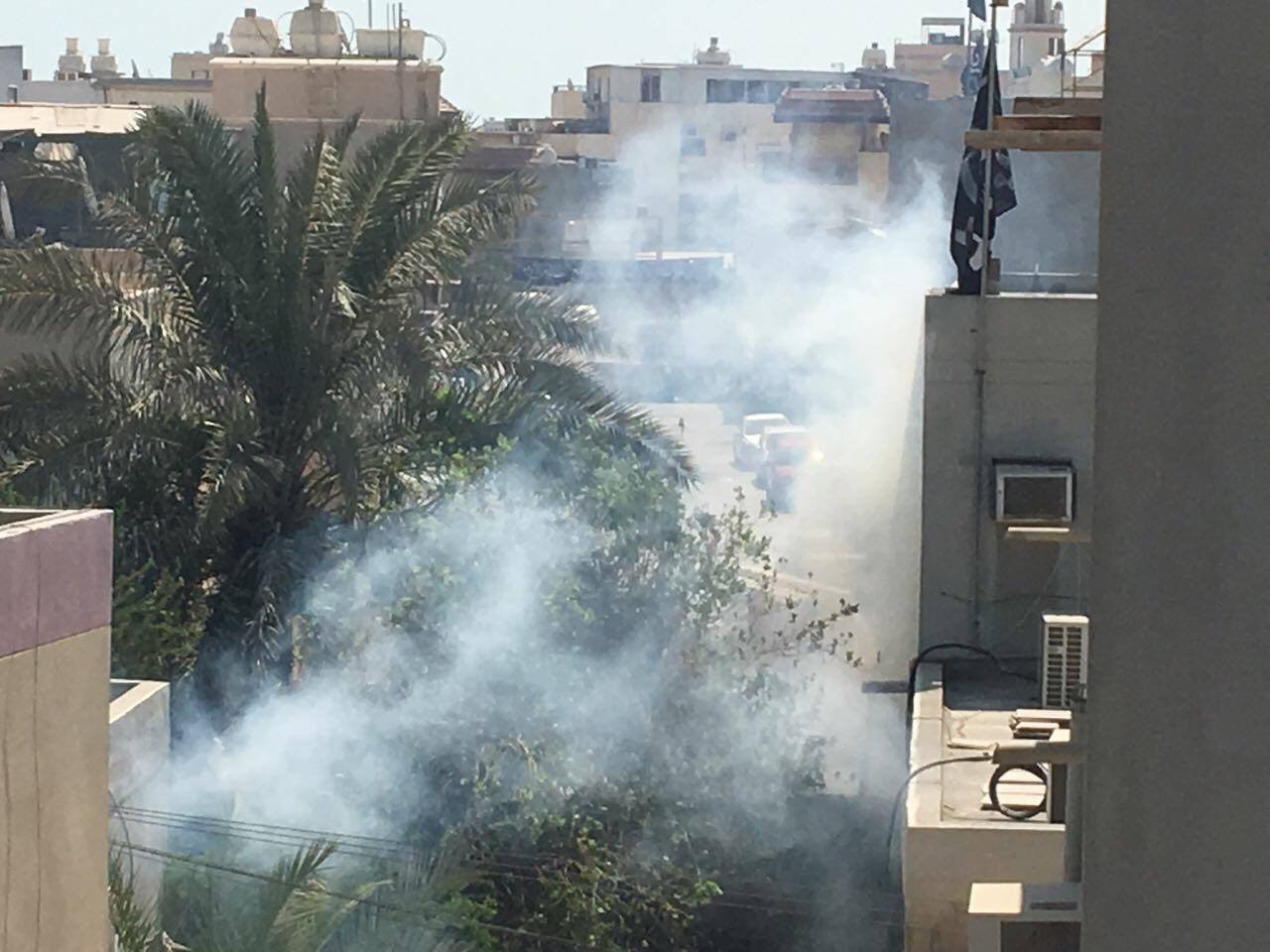 ثوّار البحرين يتصدّون للمعتدين على الشعائر الحسينيّة