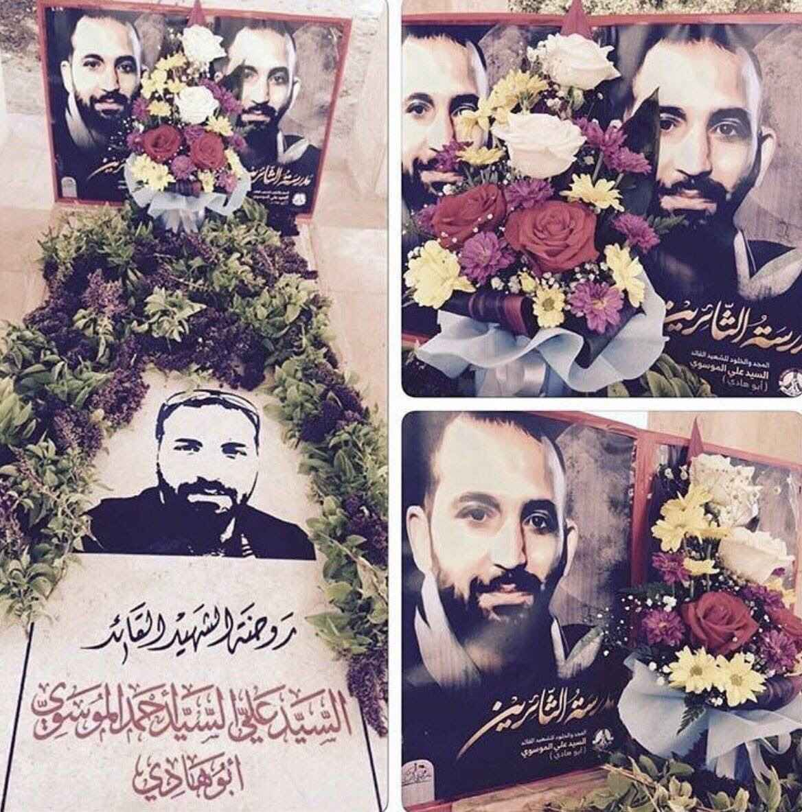 روضة الشهيد القائد«أبوهادي» تزدان بأكاليل الزهور